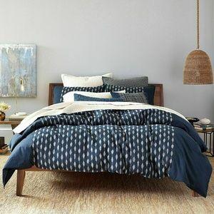 OakeTwin Comforter Duvet Cover Sutton Navy Blue